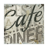 Restaurant Sign II Premium Giclee Print by Michael Mullan