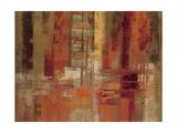 Sunset Street Crop Giclee-tryk i høj kvalitet af Silvia Vassileva
