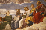 Detail of Painting of the Disputation over the Most Holy Sacrament Photographic Print by  Godong