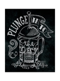 Plunge into the Day Premium Giclee Print by Mary Urban