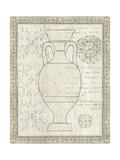 Restoration Period Urn II Premium Giclee Print by Wild Apple