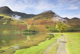Buttermere Lake, Lake District National Park, Cumbria, England, United Kingdom, Europe Photographic Print by Markus Lange