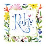 Relax Premium Giclee Print by Anne Tavoletti