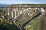 Bloukrans Bridge, Site of Highest Bungy in World, 216 M Tall Photographic Print by Kim Walker