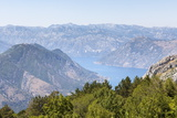 Views of the Bay of Kotor, Just Outside of Lovcen Nation Park, Njegusi, Montenegro, Europe Photographic Print by Charlie Harding