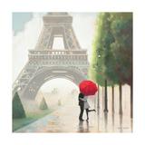 Paris Romance II Stampa giclée premium di Marco Fabiano