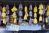 Local Sausage Specialities for Sale, Argentina, South America Photographic Print by Michael Runkel