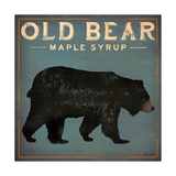 Old Bear Premium Giclee Print by Ryan Fowler