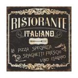 Italian Cuisine I Premium Giclee Print by  Pela