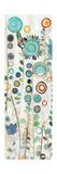 Ocean Garden I Panel II Premium Giclee Print by Candra Boggs
