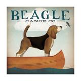 Ryan Fowler - Beagle Canoe Co - Birinci Sınıf Giclee Baskı