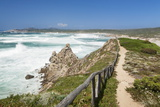 Path Along the West Coast at the Beach of Rena Maiore, Sardinia, Italy, Mediterranean, Europe Photographic Print by Markus Lange