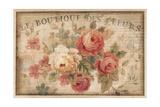 Parisian Flowers III Premium Giclee Print by Danhui Nai