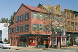Historic Buildings on Cameron Street in Old Town Alexandria Photographic Print by John Woodworth
