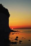 Sunrise at the Chalk Cliffs Photographic Print by Jochen Schlenker