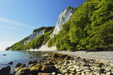Koenigsstuhl, Chalk Cliffs, Jasmund National Park Fotografisk tryk af Jochen Schlenker