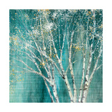Blue Birch Premium Giclee Print by Julia Purinton