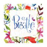 Breathe Premium Giclee Print by Anne Tavoletti