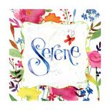 Serene Premium Giclee Print by Anne Tavoletti