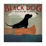 Ryan Fowler - Black Dog Canoe Speciální digitálně vytištěná reprodukce