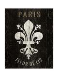 Refurbished Fleur de Lis Premium Giclee Print by Hugo Wild
