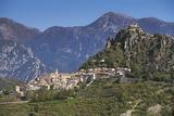 St Agnes, Cote D'Azur, Provence, France Photographic Print by John Miller