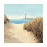 James Wiens - Beach Path Square - Birinci Sınıf Giclee Baskı