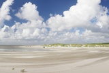 Dunes at a Beach, Sankt Peter Ording, Eiderstedt Peninsula, Schleswig Holstein, Germany, Europe Photographic Print by Markus Lange