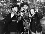 The Three Stooges: Three Tree Saps Photographic Print