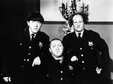 The Three Stooges: Law and Order Photographic Print