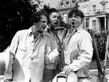 The Three Stooges: The Garden Shop Trio Photographic Print