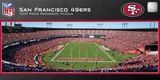 San Francisco 49ers 1000 Piece Panoramic Stadium Jigsaw Puzzle Jigsaw Puzzle