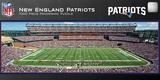 New England Patriots 1000 Piece Panoramic Stadium Jigsaw Puzzle Jigsaw Puzzle