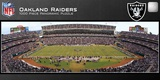 Oakland Raiders 1000 Piece Panoramic Stadium Jigsaw Puzzle Jigsaw Puzzle