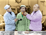 The Three Stooges: The Painters Three! Photographic Print