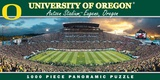 Oregon Ducks 1000 Piece Panoramic Jigsaw Puzzle Jigsaw Puzzle