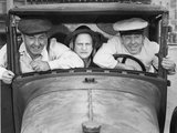 The Three Stooges: Speed Demons! Photographic Print