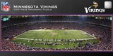Minnesota Vikings 1000 Piece Panoramic Stadium Jigsaw Puzzle Jigsaw Puzzle