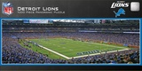 Detroit Lions 1000 Piece Panoramic Stadium Jigsaw Puzzle Jigsaw Puzzle