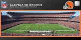 Cleveland Browns 1000 Piece Panoramic Stadium Jigsaw Puzzle Jigsaw Puzzle