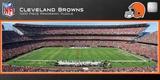 Cleveland Browns 1000 Piece Panoramic Stadium Jigsaw Puzzle Jigsaw Puzzle