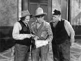 The Three Stooges: Wish We Had GPS Photographic Print