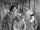 The Three Stooges: In Your Face! Photographic Print