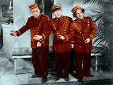 The Three Stooges: Welcome to Hotel Knuckleheads Photographic Print