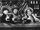 The Three Stooges: For Duty and Humanity! Photographic Print