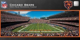 Chicago Bears 1000 Piece Panoramic Stadium Jigsaw Puzzle Jigsaw Puzzle