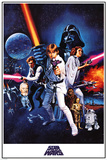 Star Wars A New Hope Plakaty