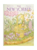 The New Yorker Cover - April 23, 1984 Regular Giclee Print by Jenni Oliver