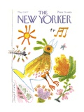 The New Yorker Cover - May 2, 1977 Regular Giclee Print by Joseph Low