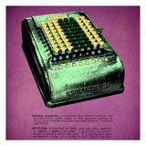 Adding Machine Print 1 Posters by Tina Carlson